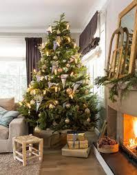 Decoración creativa del árbol de navidad