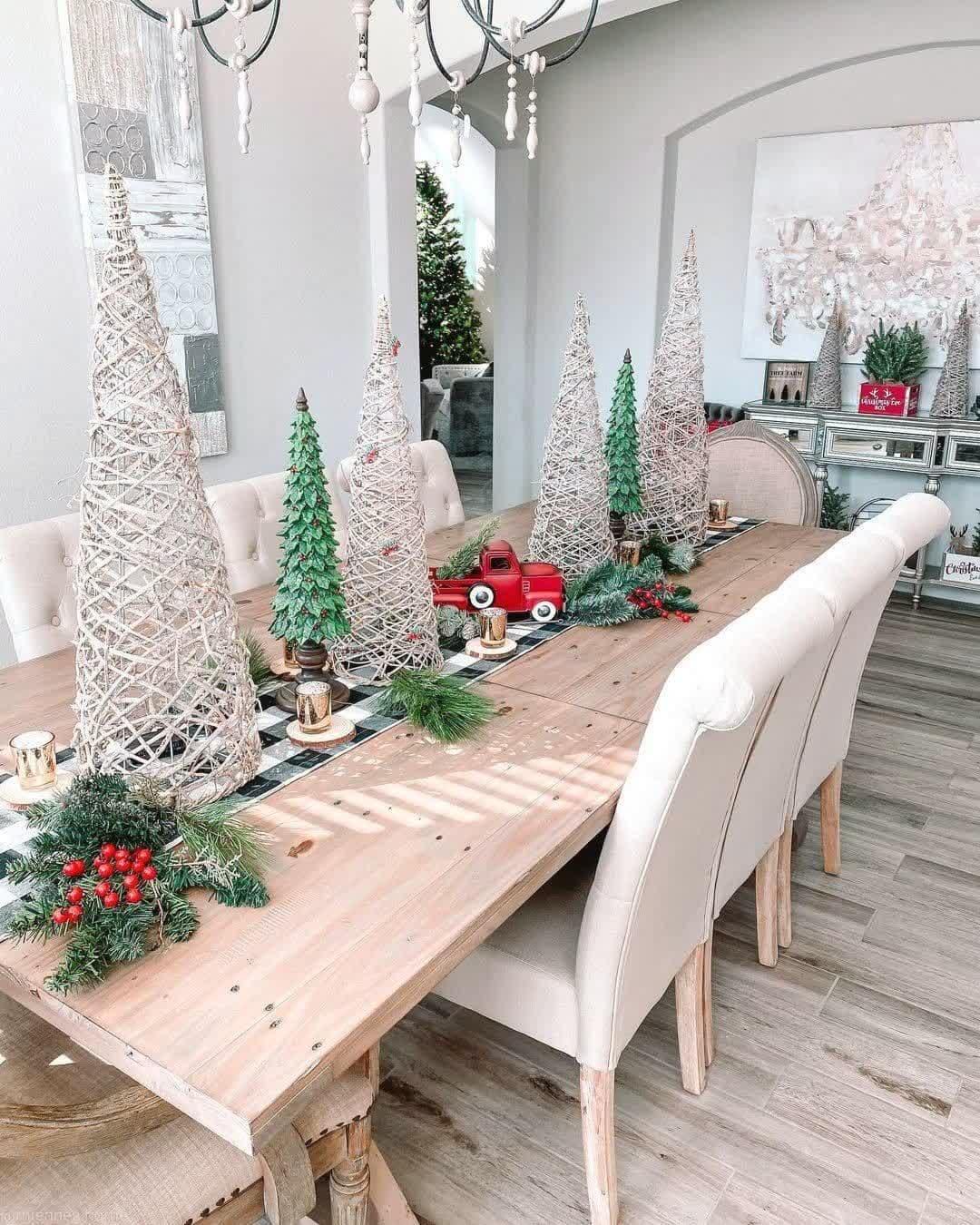Ideas creativas que te ayudarán con tu decoración de Navidad