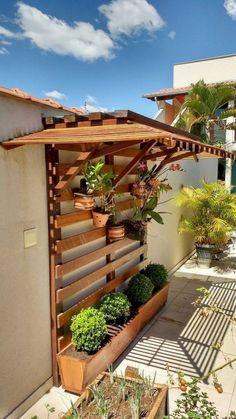 Pérgolas sencillas para el patio de tu casa