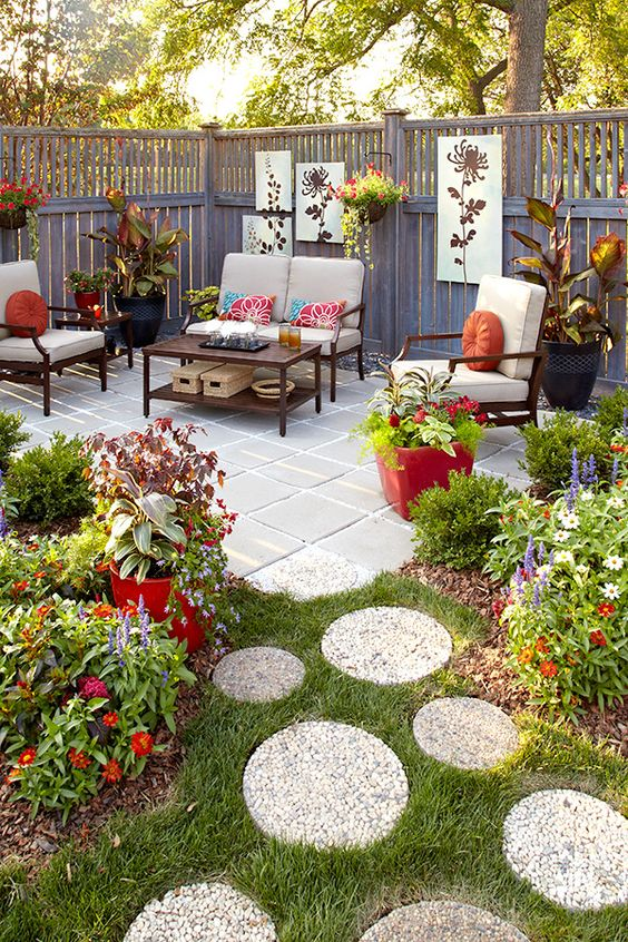 Ideas para decorar el patio trasero de tu casa