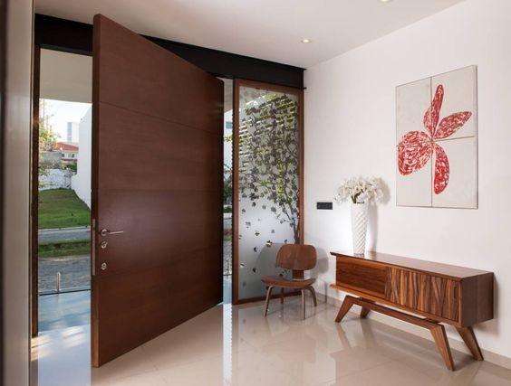 Ideas de puertas principales modernas