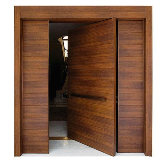 Diseños de puertas principales minimalistas