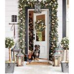 Decoración de diferentes espacios con adornos navideños