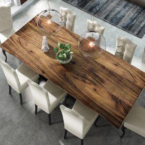 Mesas de comedor rústicas modernas