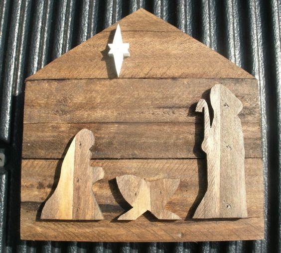 Nacimientos de madera DIY