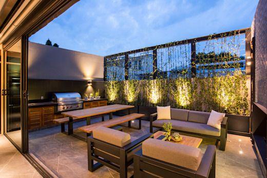 Ideas para decorar tu roof garden