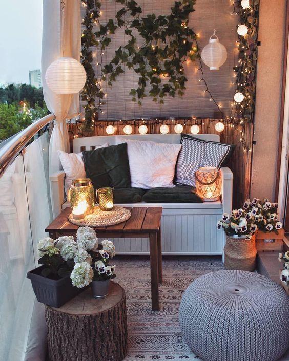 Iluminación para terrazas low cost