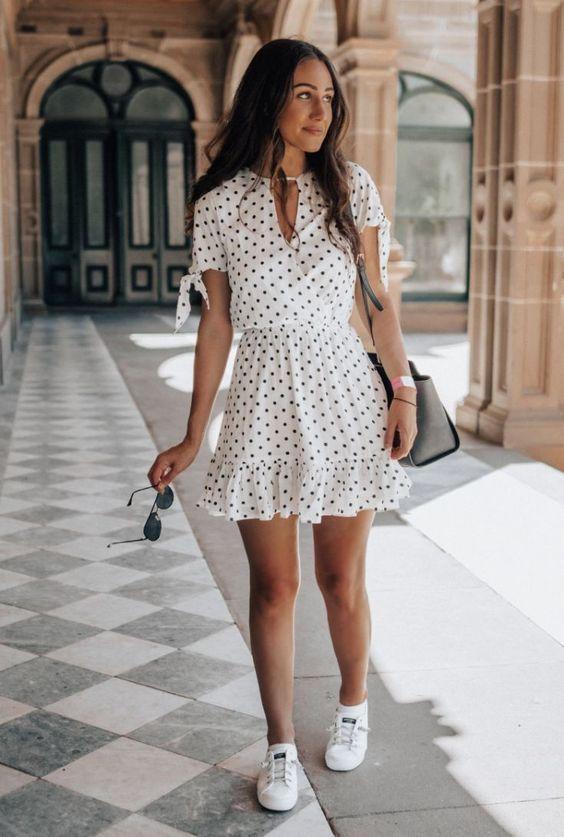 Los mejores outfits con vestidos y flats
