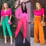 Outfits con blusas coloridas para verano
