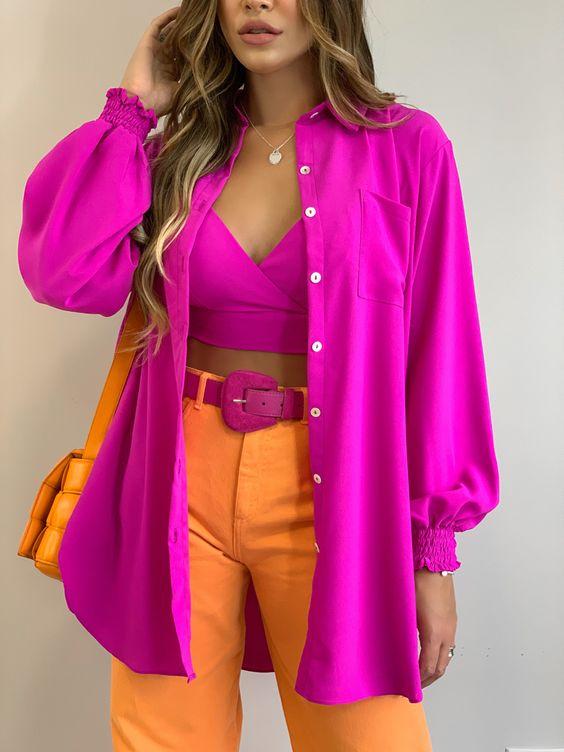 Looks coloridos para verano