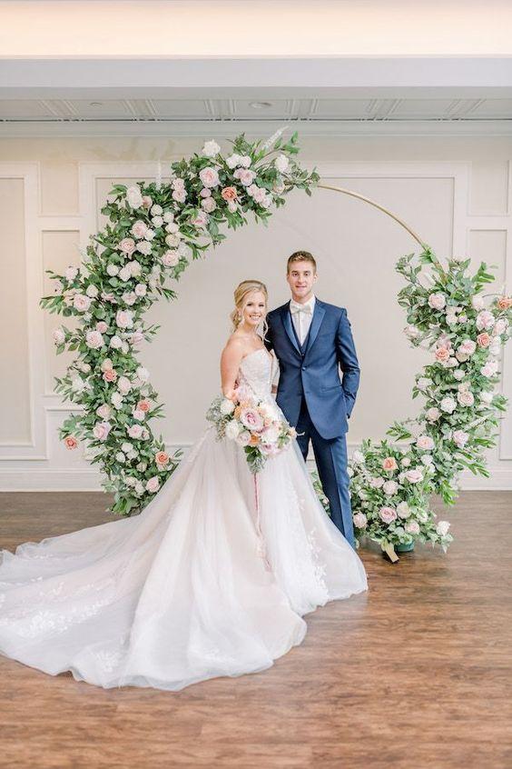 Adornos florales para boda