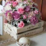 Arreglos florales para boda sencillos
