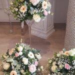 Ideas de arreglos florales para boda civil