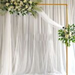Altares para boda con flores