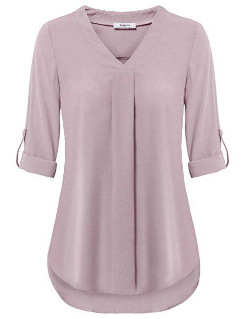 Opciones de blusas de gasa de vestir