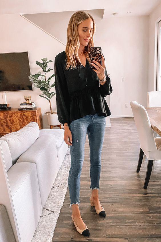Diseños de blusas ceñidas a la cintura