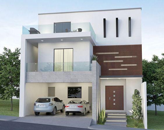 Casas modernas de dos pisos