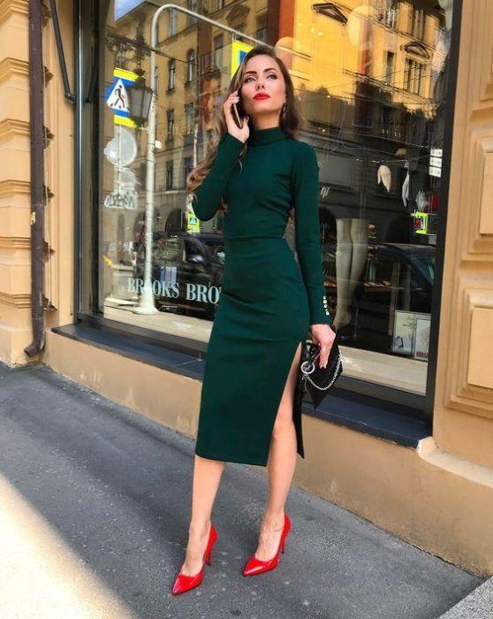 Outfits con vestidos casuales pero elegantes