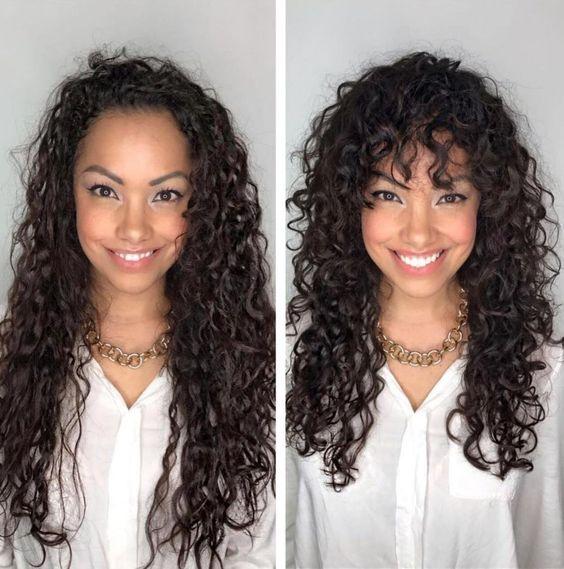 Cortes de pelo para mujeres con rizos