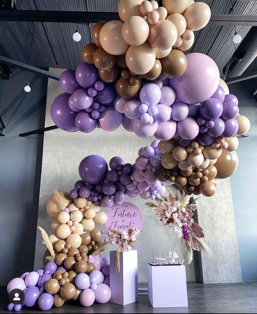 Como decorar un cumpleaños por colores