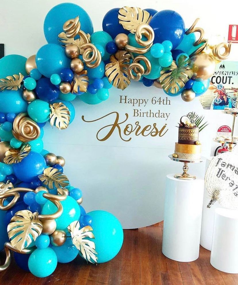 Ideas para decoración de cumpleaños para hombre
