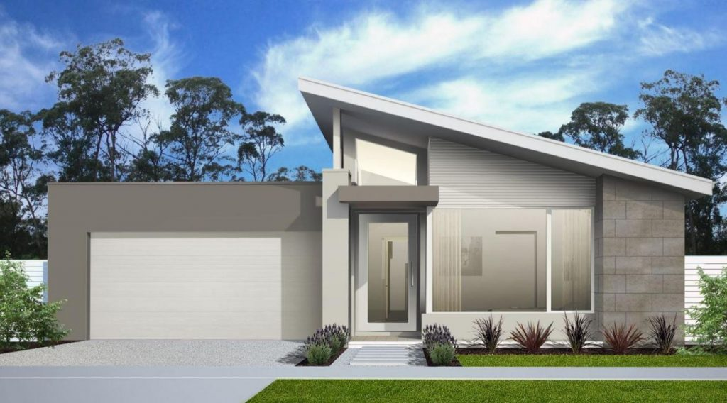 Fachadas de casas sencillas y elegantes
