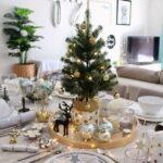 Ejemplos de centros de mesa navideños modernos