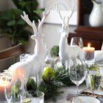 Diseños de centros de mesa navideños 2021 - 2022