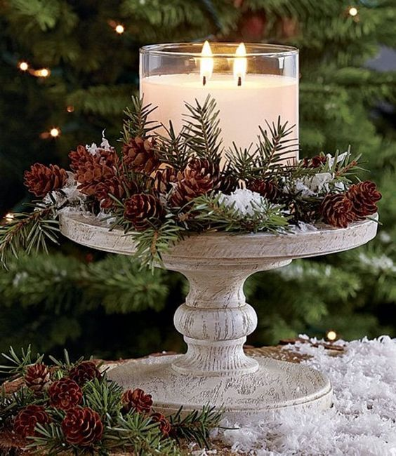 Fantásticos centros de mesa navideños