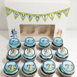 Decoración para fiesta de Bluey