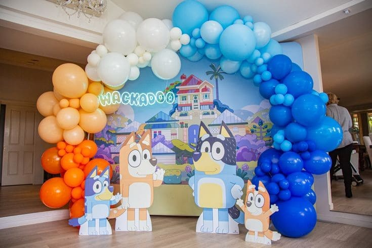 Fiesta temática de Bluey