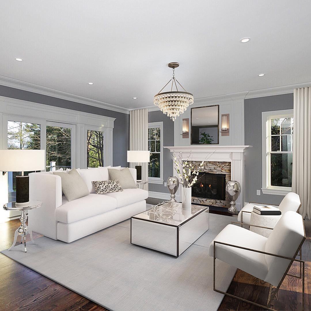 Colores para decoración de salas de estar