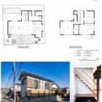 Casas de dos pisos con revestimientos de ladrillo