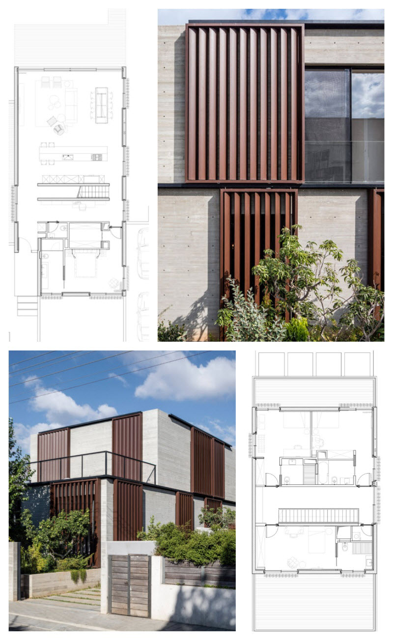 Construcción de casas de dos pisos en terrenos grandes