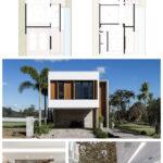 Planos de casas de dos pisos para terrenos con medianeras
