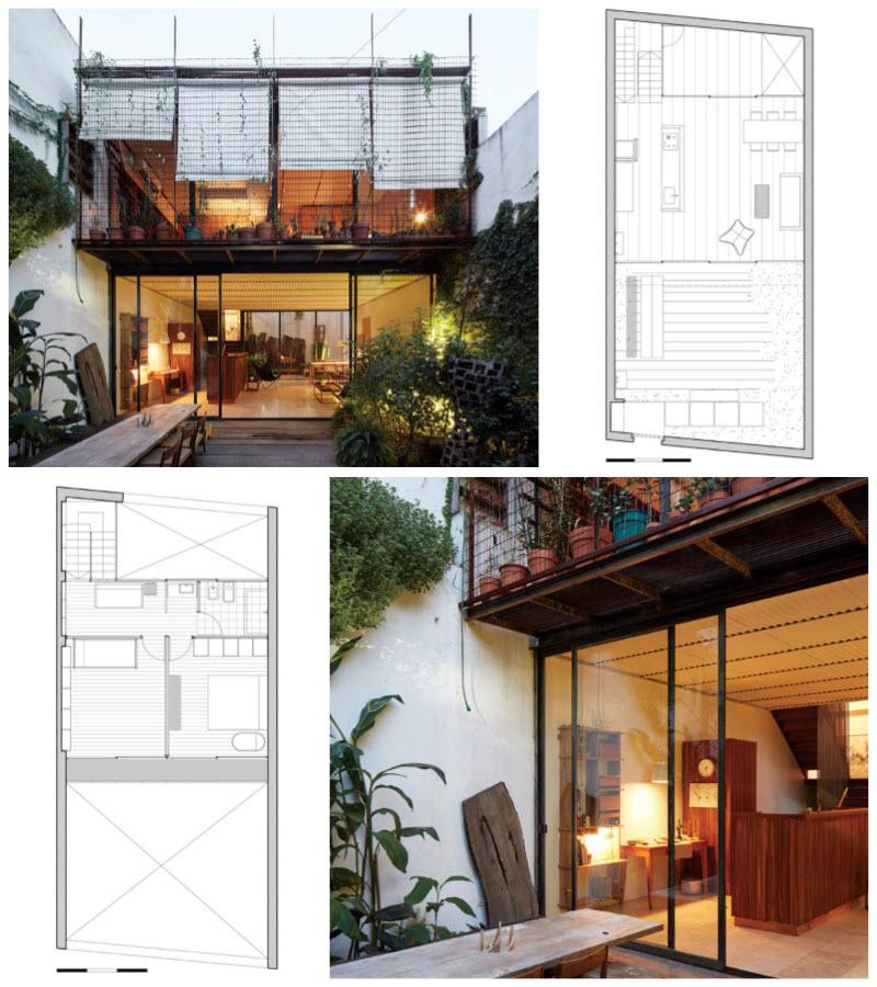 Hermosas casas económicas con estructura metálica