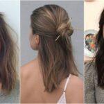 Ideas de peinados para cabello corto, mediano y largo