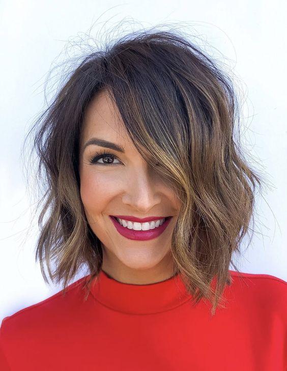 Diferentes peinados para cabello corto y suelto que debes intentar