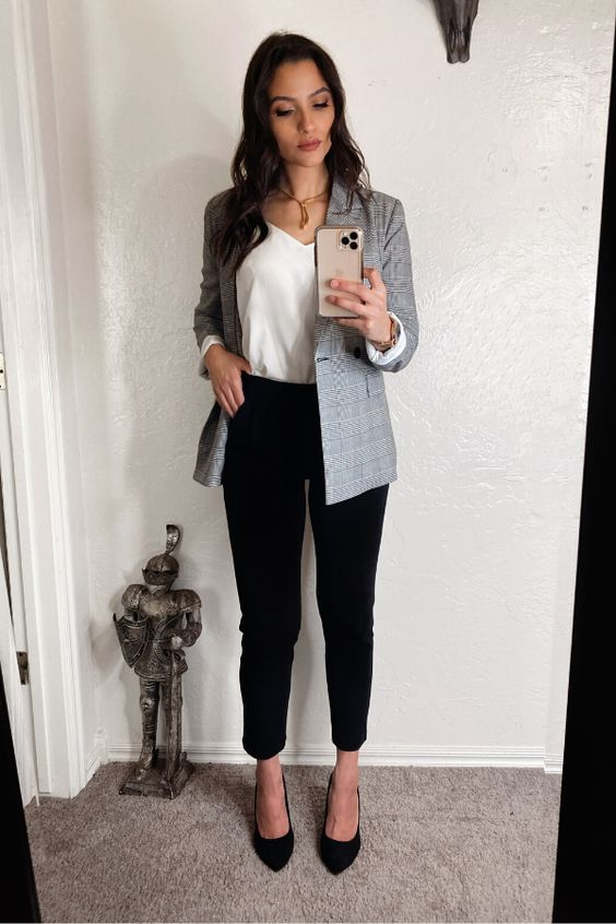 Looks con blazer para la oficina