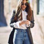 Wide leg jeans para otoño - invierno