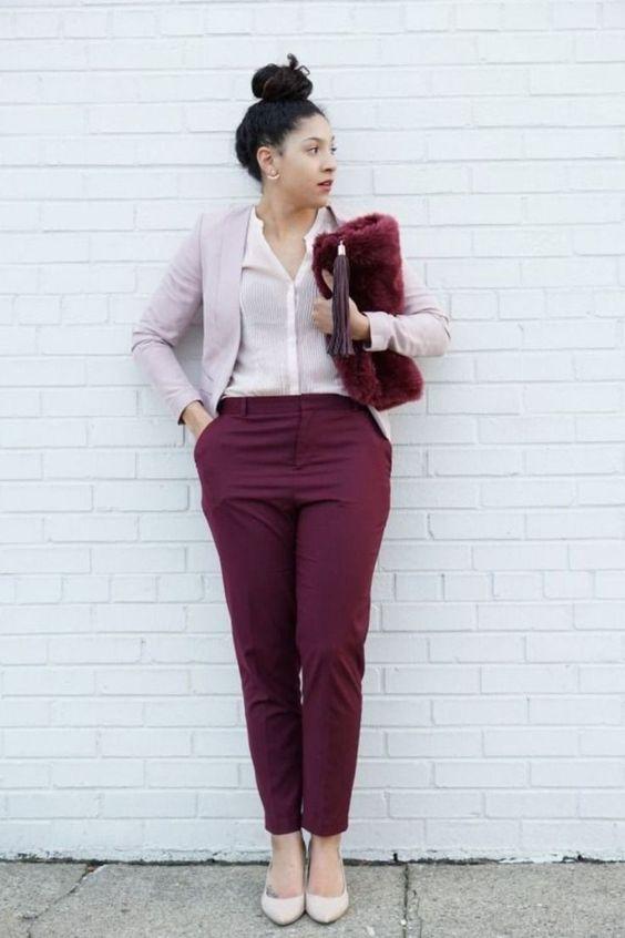 La mejor inspiración para tus looks de oficina si eres una chica con curvas y mucho estilo