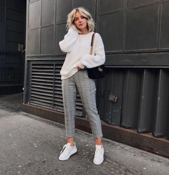 Ideas de outfits con jeans y cardigans