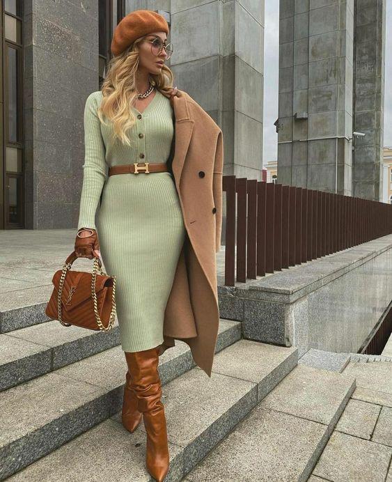 Looks de otoño para mujeres maduras