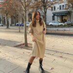 Maxi vestidos con botas largas
