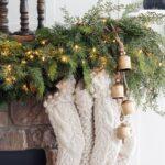 Luz en decoración navideña
