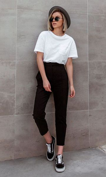 Looks con leggins negros