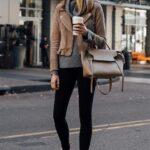 Ideas de outfits con leggins negros y tenis
