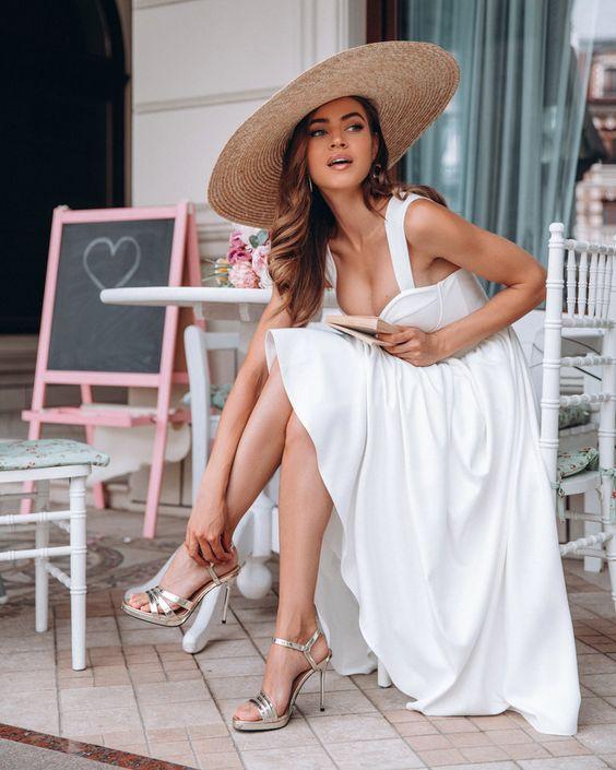 Vestidos en color blanco