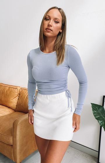 Tacones con mini falda