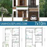 Diseños de planos de casas modernas